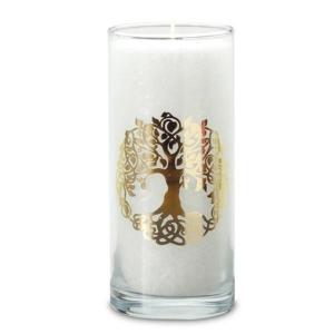 magische kerze weiß baum des lebens palm light palmlicht bei Lichtquelle online kaufen